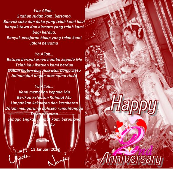My 2nd Anniversary