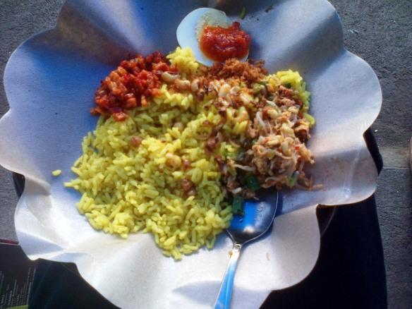 Sarapan Nasi Campur Bali
